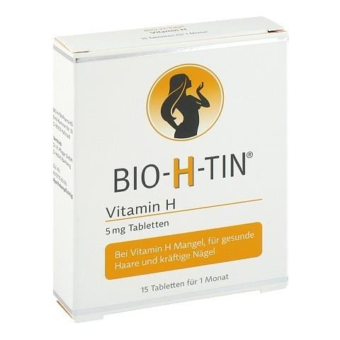 BIO-H-TIN Vitamin H 5mg 15 Stück
