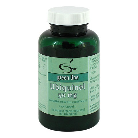 UBIQUINOL 50 mg Kapseln 120 Stück