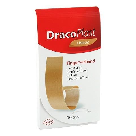 DRACOPLAST Fingerstrips 2x12 cm elastic 10 Stück