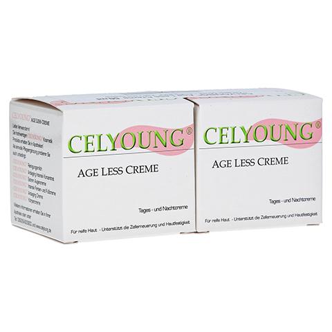 CELYOUNG age less Creme plus eine Gratis 2x50 Milliliter