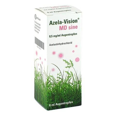 Azela-Vision MD sine 0,5mg/ml 6 Milliliter N1