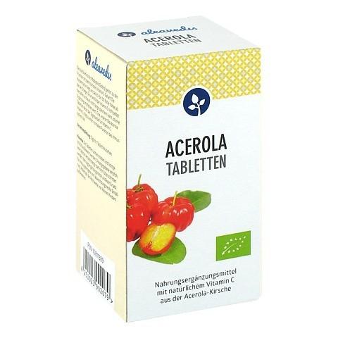ACEROLA 17% Vitamin C Bio Lutschtabletten 100 Stück