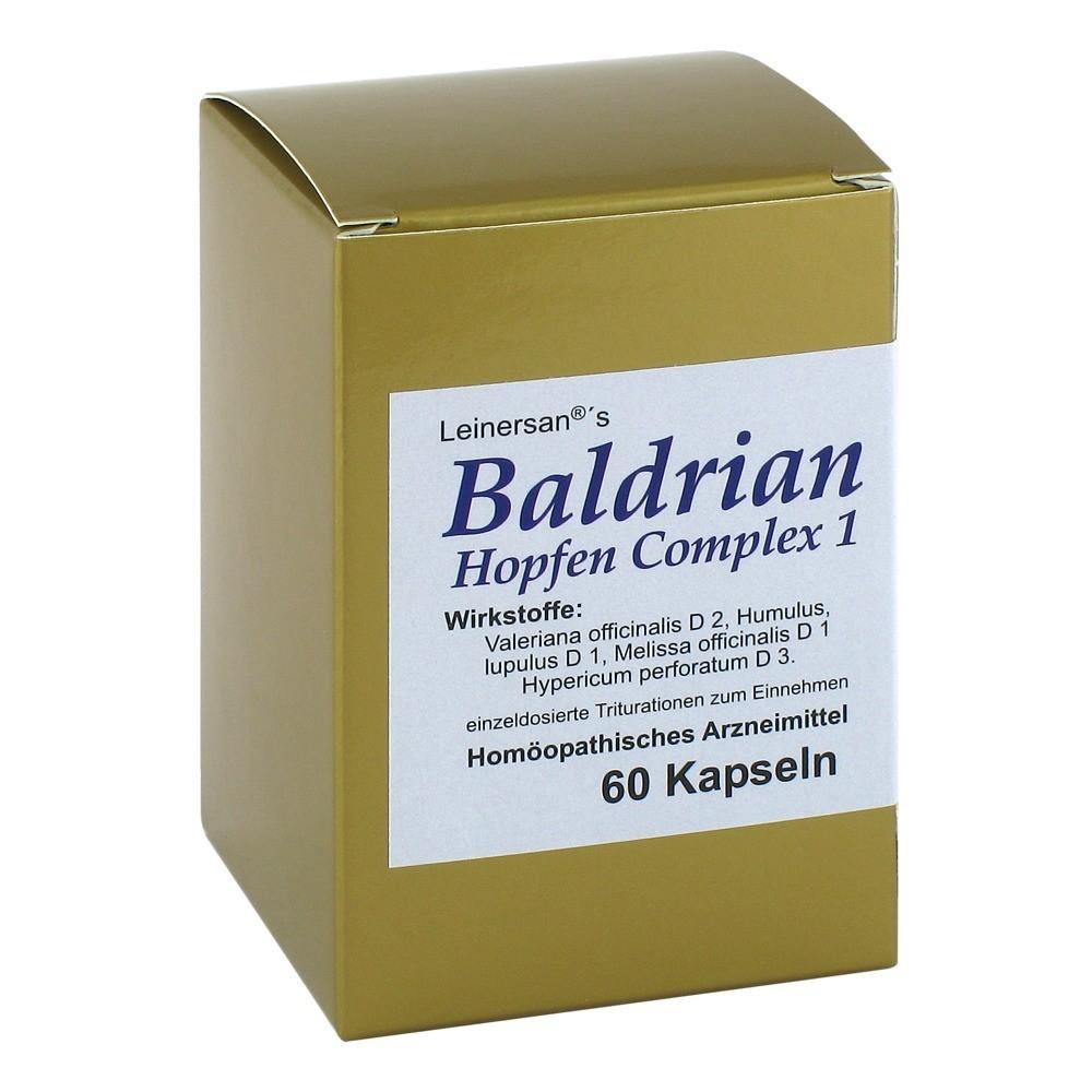 baldrian hopfen complex 1 leinersan kapseln 60 st ck n1. Black Bedroom Furniture Sets. Home Design Ideas