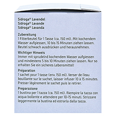 Sidroga Lavendel 20x1.0 Gramm - Linke Seite