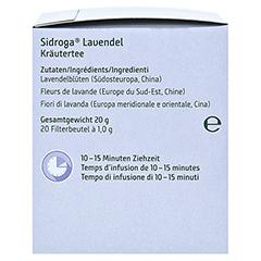Sidroga Lavendel 20x1.0 Gramm - Rechte Seite