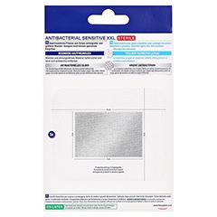 HANSAPLAST Sensitive Wundverband antibakt.8x10 cm 5 Stück - Rückseite