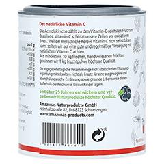 Acerola 100% Natürliches Vitamin C Pulver 100 Gramm - Rechte Seite