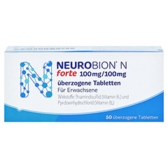 Neurobion N forte 50 Stück - Vorderseite