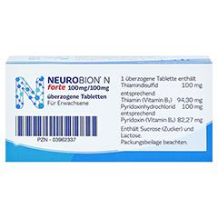 Neurobion N forte 50 Stück - Oberseite