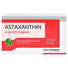 ASTAXANTHIN 4 mg GPH Kapseln 90 Stück - Vorderseite