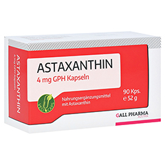 ASTAXANTHIN 4 mg GPH Kapseln 90 Stück
