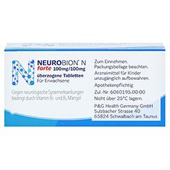 Neurobion N forte 50 Stück - Unterseite