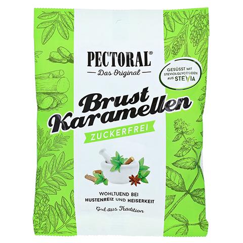 PectOral-Brustkaramellen zuckerfrei Beutel 60 Gramm