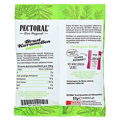 PectOral-Brustkaramellen zuckerfrei Beutel 60 Gramm - Rückseite