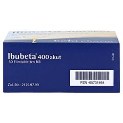 Ibubeta 400 akut 50 Stück N3 - Unterseite