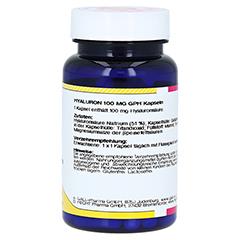 HYALURON 100 mg GPH Kapseln 60 Stück - Linke Seite