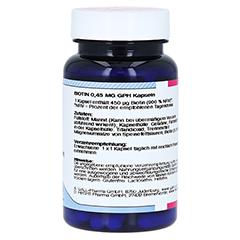 BIOTIN 0,45 mg GPH Kapseln 60 Stück - Linke Seite