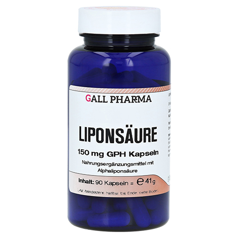 LIPONSÄURE 150 mg GPH Kapseln 90 Stück