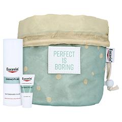 EUCERIN DermoPure mattierendes Fluid + gratis Kosmetikbeutel inkl. DermoPure Renigungsgel 20ml 50 Milliliter