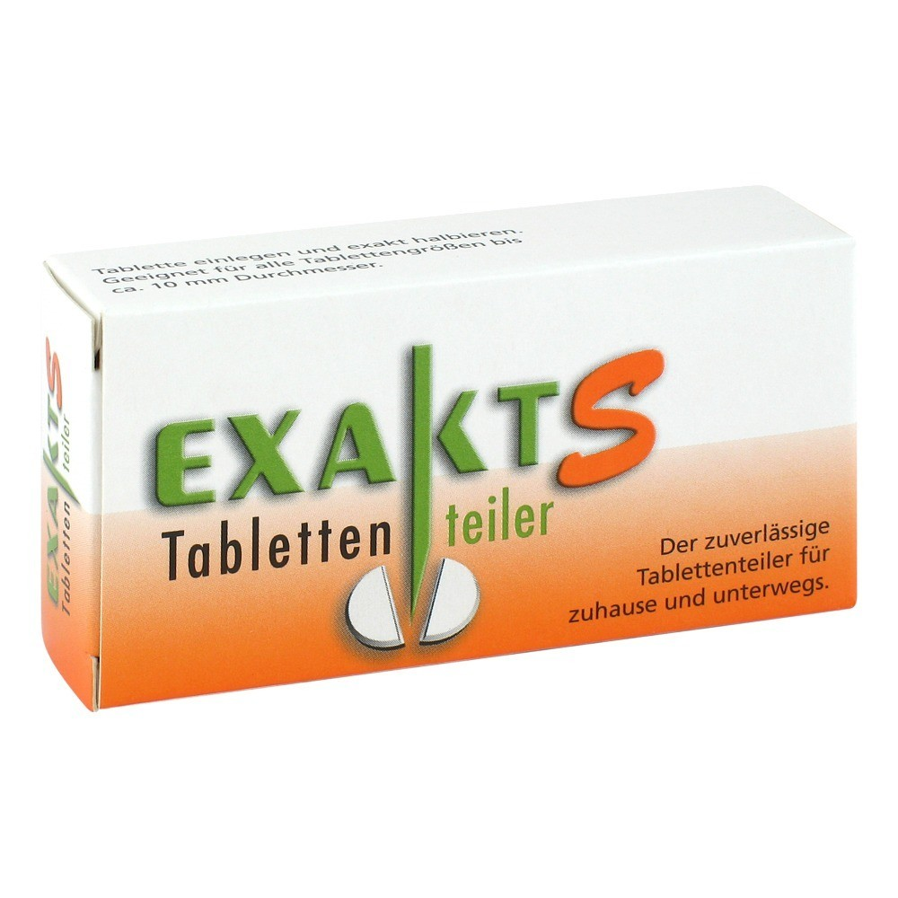 exakt-s-tablettenteiler-1-stuck
