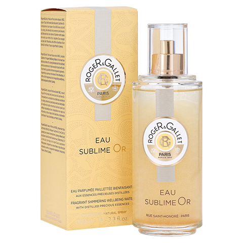 R&G Bois d'Orange Eau Sublime Or Gold Eau Fraiche + gratis R&G Kosmetiktasche 100 Milliliter