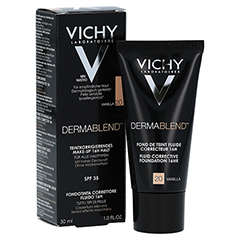 Vichy Dermablend Make-up Fluid Nr. 20 Vanilla 30 Milliliter