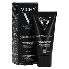 Vichy Dermablend Make-up Fluid Nr. 45 Gold 30 Milliliter