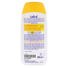 LADIVAL norm.bis empfindl.Haut Lotion LSF 25 200 Milliliter - Rückseite