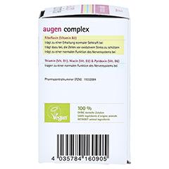 AUGEN COMPLEX Bio Tabletten 60 Stück - Rechte Seite