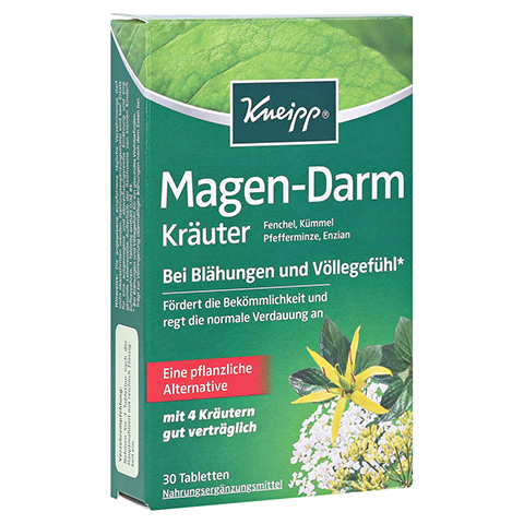 KNEIPP Magen-Darm Kräuter Tabletten 30 Stück