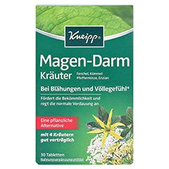 KNEIPP Magen-Darm Kräuter Tabletten 30 Stück - Vorderseite