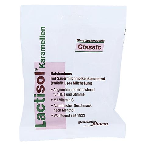 LACTISOL Karamellen Classic ohne Zucker 50 Gramm