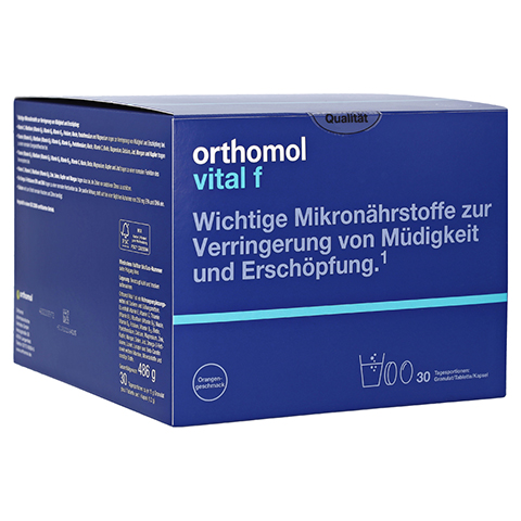 Orthomol Vital f Granulat/Tablette/Kapsel Orange 1 Stück