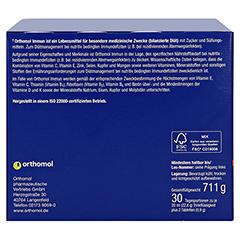 Orthomol Immun Trinkfläschchen + Tabletten 30 Stück - Linke Seite