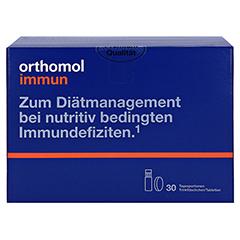 Orthomol Immun Trinkfläschchen + Tabletten 30 Stück - Vorderseite