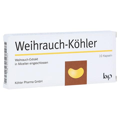 WEIHRAUCH-KÖHLER Kapseln 10 Stück