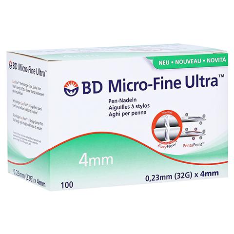 BD MICRO-FINE ULTRA Pen-Nadeln 0,23x4 mm CPC 100 Stück
