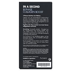 EUBOS IN A SECOND Stra.kur Bi-Phase Collagen Boost 7x2 Milliliter - Rückseite