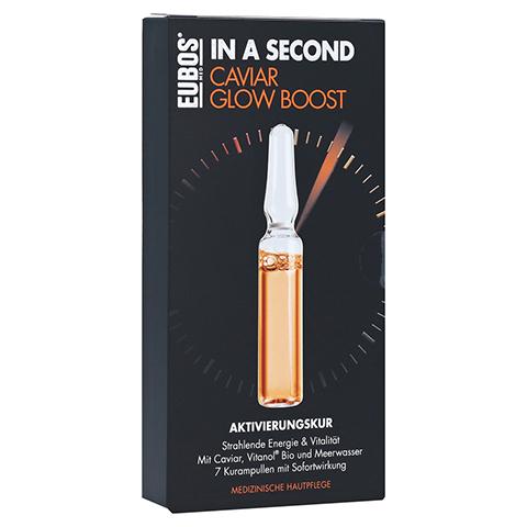 EUBOS IN A SECOND Aktivierungskur CaviarGlow Boost 7x2 Milliliter