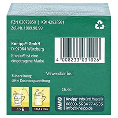Kneipp Galle- und Leber Tee 10 Stück - Unterseite