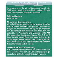 Kneipp Galle- und Leber Tee 10 Stück - Rückseite