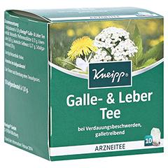Kneipp Galle- und Leber Tee 10 Stück