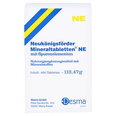 Neukönigsförder Mineraltabletten NE 200 Stück - Vorderseite
