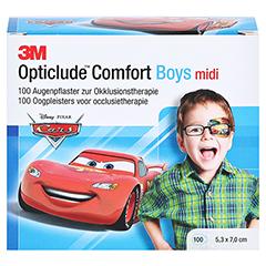 Opticlude 3M Comfort Disney Pflaster Boys midi 100 Stück - Vorderseite