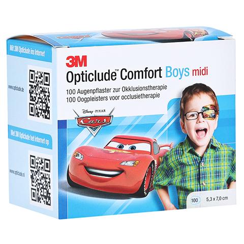 Opticlude 3M Comfort Disney Pflaster Boys midi 100 Stück