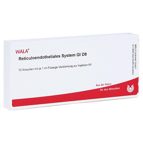 RETICULOENDOTHELIALES System GL D 8 Ampullen 10x1 Milliliter N1