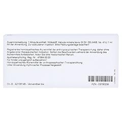 VALVULA mitralis GL D 5 Ampullen 10x1 Milliliter N1 - Rückseite