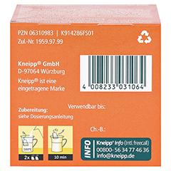 Kneipp Blasen- und Nieren-Tee 10 Stück - Unterseite