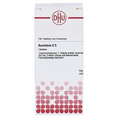 ACONITUM C 5 Tabletten 200 Stück N2 - Vorderseite