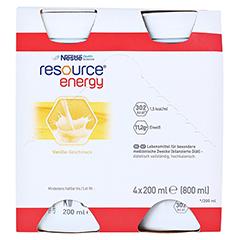 RESOURCE Energy Vanille 6x4x200 Milliliter - Vorderseite